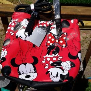 🌹  Minnie Mouse Tote Bag Loungefly 👜 🦋